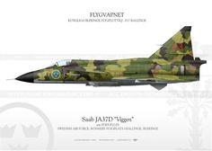 "Saab JA37D ""Viggen"" F17-03 IK-64"