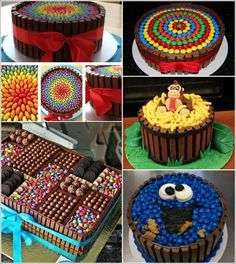 23 Delicious and Stunning Kit Kat Cakes