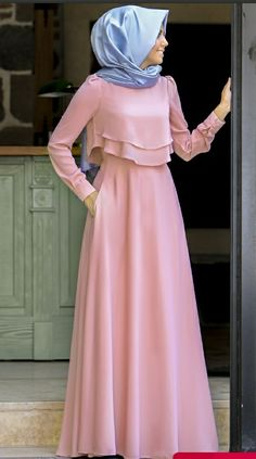 Source by coskunsisosese brokat Hijab Evening Dress, Hijab Dress Party, Evening Dresses, Hijab Mode, Mode Abaya, Abaya Fashion, Modest Fashion, Fashion Dresses, Muslim Women Fashion