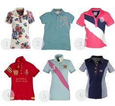 6 Polo Shirts to Prep You for Spring by Horses & Heels