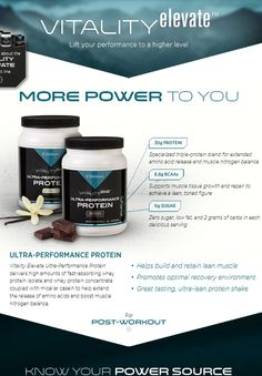 Lift your performance to a higher level -Performance Protein #protein #saferallnatural