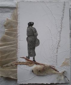 Stéphanie Devaux  love the pleats from the previous page, and the needle holes