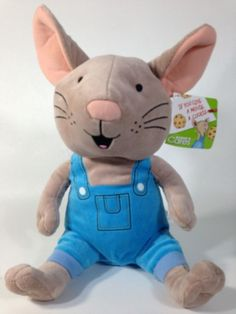 Kohl's Cares If You Give a Mouse a Cookie Plush Blue Overalls Toy Doll #Kohls