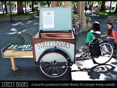 Street Books: A Bicycle-Powered Library for People Outside by Street Books — Kickstarter