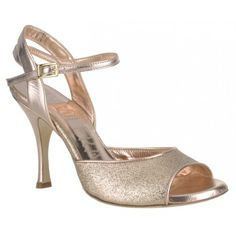 Emerald Blue, Satin Shoes, Women's Shoes, Tango Shoes, Tango Dance, Argentine Tango, Vegan Shoes, Or Rose, Rose Gold