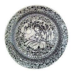 Bjorn Wiinblad Decorative Plate - $450 Est. Retail - $195 on Chairish.com
