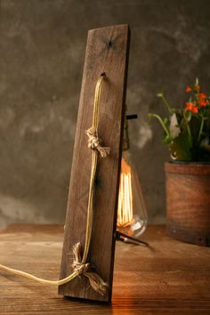 Cool Vintage Table Lamp Inspired By Nature Itself | DigsDigs