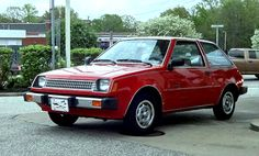 1983 Plymouth Champ (4th Gen) 1.4L & 1.6L 4-cylinder FWD Engine