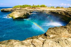 devils tears at nusa lembongan