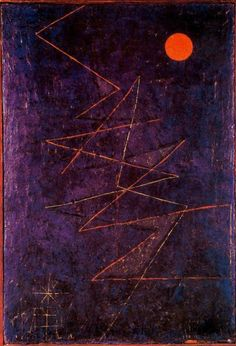 Paul Klee - Rayo multicolor