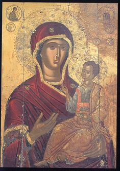 Orthodox Icons, Virgin Mary, Our Lady, Byzantine, Madonna, Mona Lisa, Marvel, Artwork, Religion