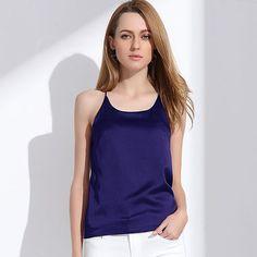 Silk Halter Top Women Camisole 2017 Summer Style Sexy Sleeveless Vest Slim White Crop Top Women Camis Roupas Femininas 3XL Y328a