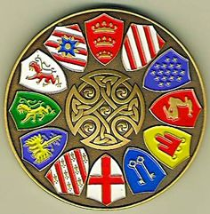... Knights of the Round Table Geocoin - Knights of the Round Table