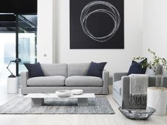 Bring a cool, modern edge to your space with this pared back, linear range in a choice of understated contemporary fabrics. www.dfs.co.uk/coast