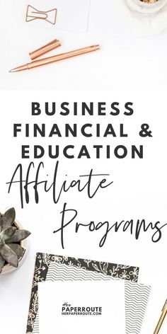 A list of affiliate programs currently accepting bloggers in the Business, Financial, Entrepreneur & Education niches. High Paying Affiliate Programs Bloggers Can Join - #MakeMoney #MakeMoneyBlogging #PassiveIncome #affiliateprograms | www.herpaperroute.com
