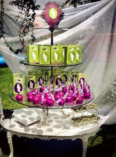 Maleficent Birthday Party Ideas | Photo 9 of 23 | Catch My Party