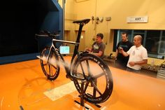 Testing our new Cucuma Veloz Pro Timetrial Triathlon racebike in the famous EADS windchannel