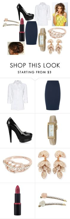 """""""Something Wicked Part 2"""" by mj-hipster-girl ❤ liked on Polyvore featuring Sanders, MANGO, Peugeot, River Island, Pasquale Bruni and Miss Selfridge"""