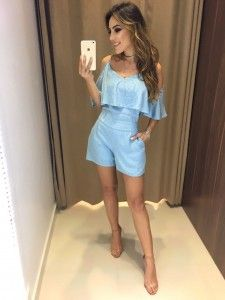 Compre Macacão Feminino Em Até 6x Sem Juros - Moda Feminina na loja Estação Store com o menor preço e ande sempre na moda.