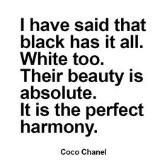 quote from Coco Chanel Interior Design Quotes, Coco Chanel, Fabrics, Sayings, Words, Tejidos, Lyrics, Cloths, Horse