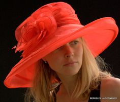 Organza Packable Multi-shaped Kentucky Derby Hat