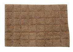 Castle 100% Cotton Summer Tile Spray Latex Back Bath Rug
