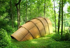 The Armadillo Tea Pavillon designed by Ron Arad – Fubiz Media Canopy Swing, Backyard Canopy, Garden Canopy, Diy Canopy, Canopy Lights, Canopy Outdoor, Canopy Tent, Outdoor Pavilion, Fabric Canopy