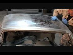 Classic Car Restoration-How To Prep Your Surface Rusted Metal. Part 2