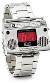 #ThinkGeek                #ThinkGeek                #Boombox #Metal #Wristwatch                         Boombox Metal Wristwatch                            http://www.seapai.com/product.aspx?PID=1805551
