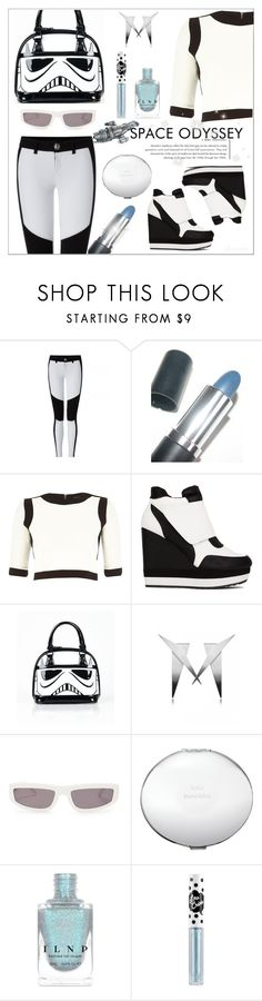 """""""She's a Real Trooper"""" by ultracake ❤ liked on Polyvore featuring Manic Panic NYC, River Island, Loungefly, Behance, Koishi, STELLA McCARTNEY, Kate Spade, Lime Crime, starwars and fashiontrend"""