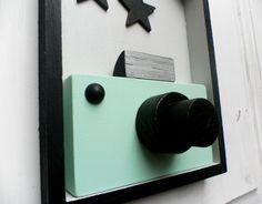 Drewniany aparat fotograficzny