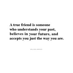 Friend Quote ❤ liked on Polyvore featuring quotes, text, phrase and saying