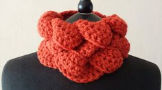 Neck warmer chunky scarf chunky cowl by MaureensCrochetLove  Her work is a must see! You know Christmas is just around the corner!!