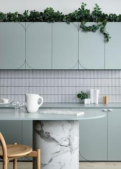 Home Interior Modern .Home Interior Modern Deco Design, Küchen Design, Home Design, Design Trends, Design Room, Blog Design, Modern Design, Kitchen Dining, Kitchen Decor