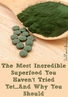 Ever heard of sun chlorella? This is an AWESOME super food that so few people even know about! I'll tell you what it is, what it does, and how to take it!