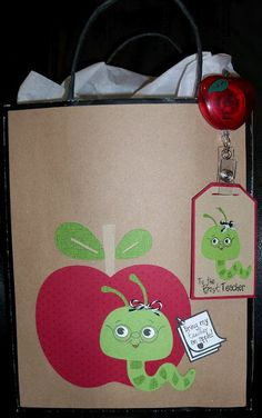 Teacher Appreciation Gift Bag and Tag