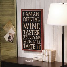 Wine Taster Graphic Art in Black