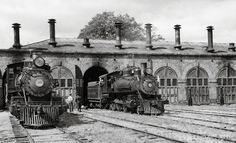 Virginia & Truckee engine house at Carson City, Nev., in September 1941.
