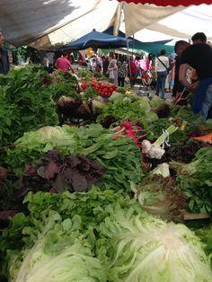 Neighborhood market Karakoy, Turkey