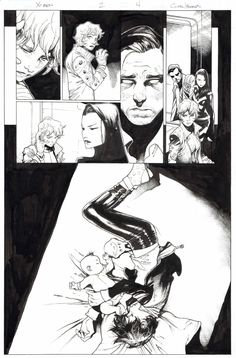 Olivier Coipel/Mark Morales X-Men #2 page 4 Comic Art
