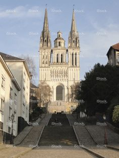 Cathedral of Angers, France stock photo 58777672 - iStock - iStock ES
