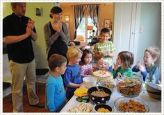 """A """"cereal mixer"""" birthday party.  How much fun would that be?!"""