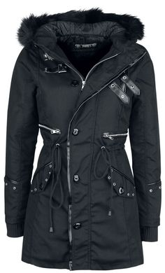 Winter Fashion Outfits, Fashion Ideas, Gaming Merch, Gothic Rock, Warm Coat, Backstage, Canada Goose Jackets, Casual Wear, Raincoat