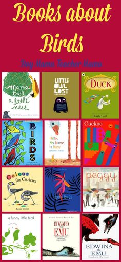 Boy Mama Teacher Mama  Books About Birds...we have quite a collection of books about birds.  Here are a few of our favorites.