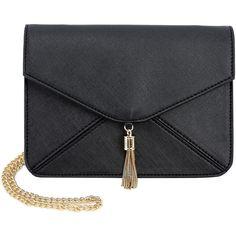 Olivia Miller Eris Envelope Clutch Crossbody Bag (€62) ❤ liked on Polyvore featuring bags, handbags, clutches, envelope clutch, cross body, olivia miller, envelope clutch bag and crossbody purses