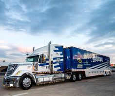 Transporter, Fastenal, International Lonestar, NASCAR, Hauler, Roush Racing, Ford Racing