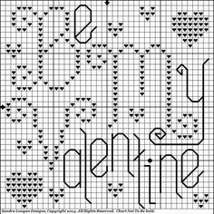 Stitchin' and Life in a Small Town: Small Valentines Freebie