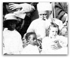 """In 1912, the country was torn with racial division, and """"separate but equal"""" was the highest level of interracial relations to which the nation aspired. 'Abdu'l-Bahá challenged America to go beyond tolerance, to embrace diversity completely, and to demolish racial barriers in law, education and evenmarriage."""