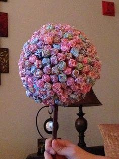 Dum Dum Tree :  Fun, inexpensive and easy wedding candy buffet candy tree diy dum dum reception P2