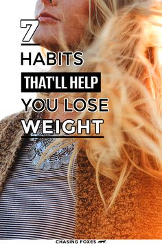 Here are 7 habits women do that keep them at their healthy weight. #ChasingFoxes #Weightloss 7 Habits, Healthy Habits, Weight Gain, Weight Loss, Stay In Shape, Health And Fitness Tips, Foxes, Healthy Weight, Random